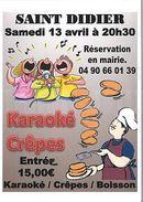 Soirée crêpes & karaoké