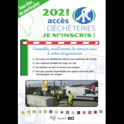 DECHETS - Nouvelles modalités d'accès aux déchèteries